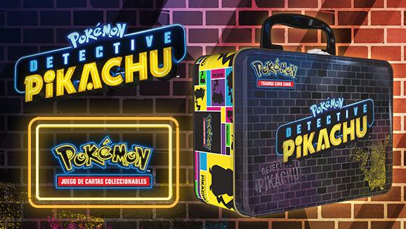 Maletín de Coleccionistas de <em>Detective Pikachu</em> de JCC Pokémon