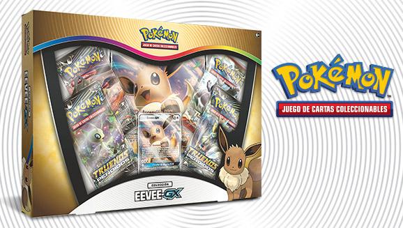 Colección Eevee-<em>GX</em> de JCC Pokémon