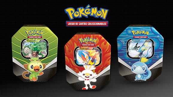 Lata Compañeros de Galar de JCC Pokémon