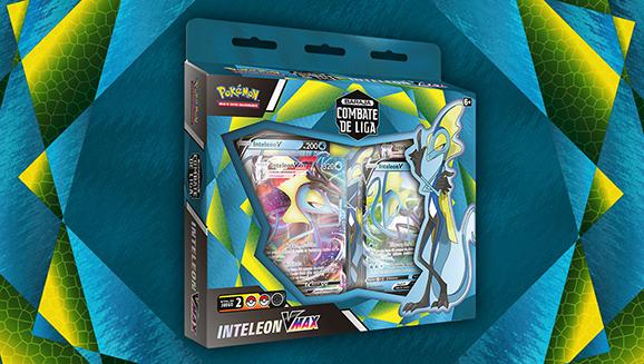 Baraja Combate de Liga de Inteleon VMAX de JCC Pokémon
