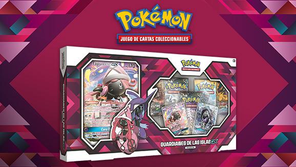 Colección Guardianes de las Islas <em>GX</em> de JCC Pokémon