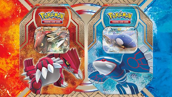 Lata Leyendas de Hoenn de JCC Pokémon