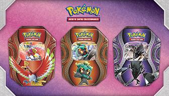 Despierta el poder de tres Pokémon-GX