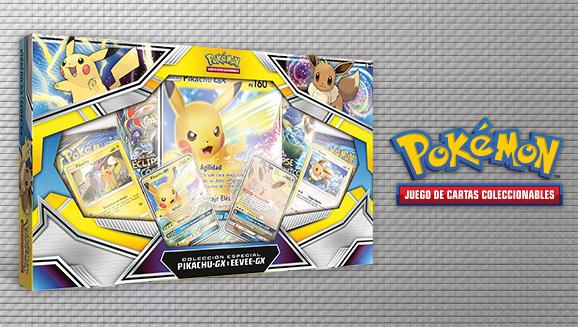 Colección especial Pikachu-<em>GX</em> e Eevee-<em>GX</em> de JCC Pokémon