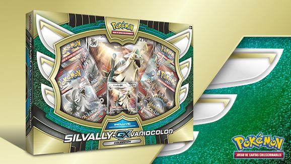 Colección Silvally-<em>GX</em> variocolor de JCC Pokémon