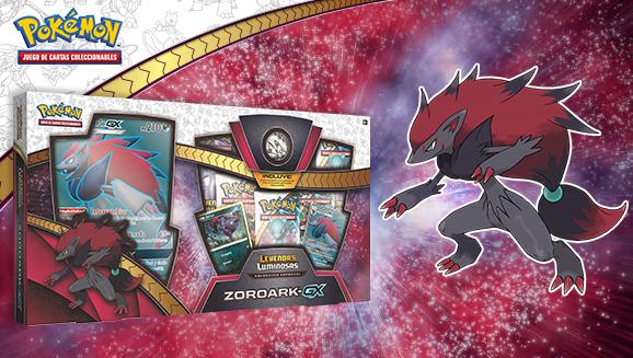 Colección especial Zoroark-<em>GX</em> de <em>Leyendas Luminosas</em> de JCC Pokémon