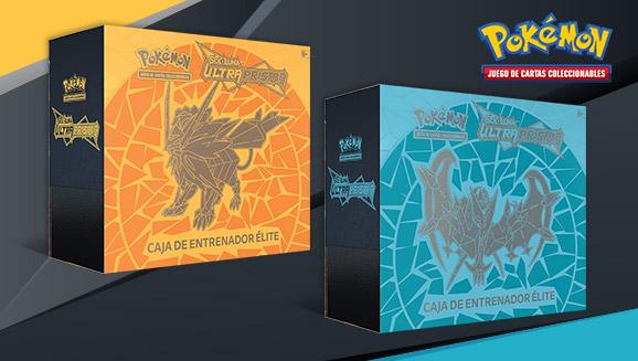 Caja de Entrenador Élite de <em>Sol y Luna-Ultraprisma</em> de JCC Pokémon
