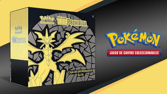Caja de Entrenador Élite de <em>Sol y Luna-Luz Prohibida</em> de JCC Pokémon