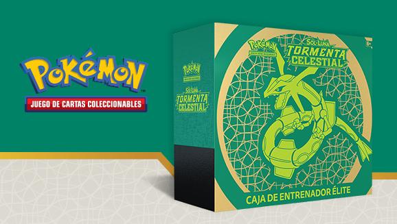 Caja de Entrenador Élite de <em>Sol y Luna-Tormenta Celestial</em> de JCC Pokémon