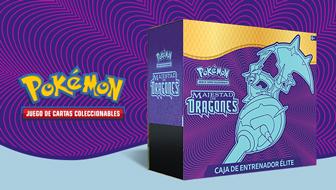Toma el control con la Caja de Entrenador Élite de Majestad de Dragones de JCC Pokémon