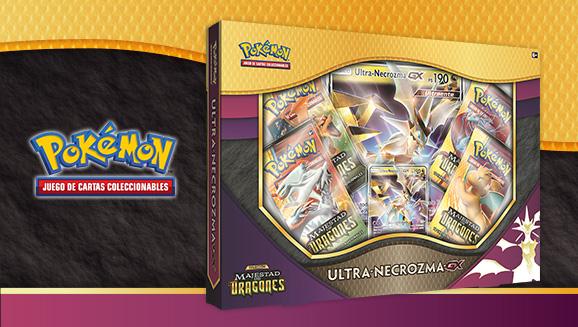 Colección Ultra-Necrozma-<em>GX</em> de <em>Majestad de Dragones</em> de JCC Pokémon