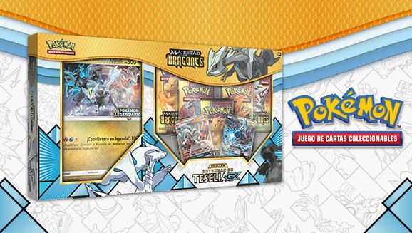 Colección Leyendas de Teselia <em>GX</em> de <em>Majestad de Dragones</em> de JCC Pokémon