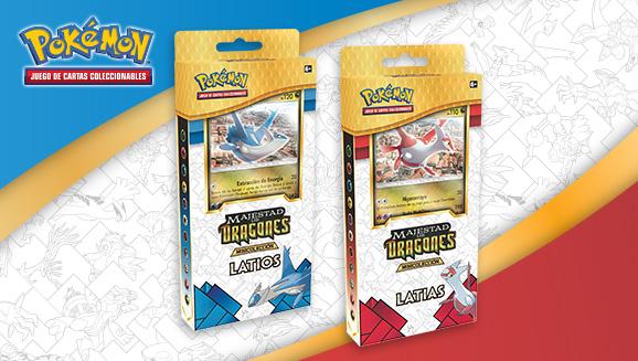 Minicolecciones Latias y Latios de <em>Majestad de Dragones</em> de JCC Pokémon