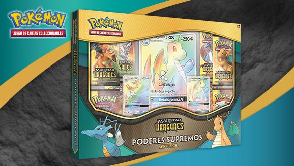 Colección Poderes Supremos de <em>Majestad de Dragones</em> de JCC Pokémon
