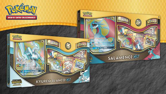 Colecciones especiales Salamence-<em>GX</em> y Kyurem Blanco-<em>GX</em>