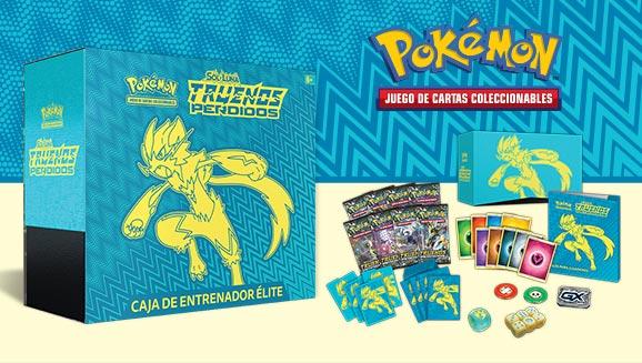 Caja de Entrenador Élite de <em>Sol y Luna-Truenos Perdidos</em> de JCC Pokémon