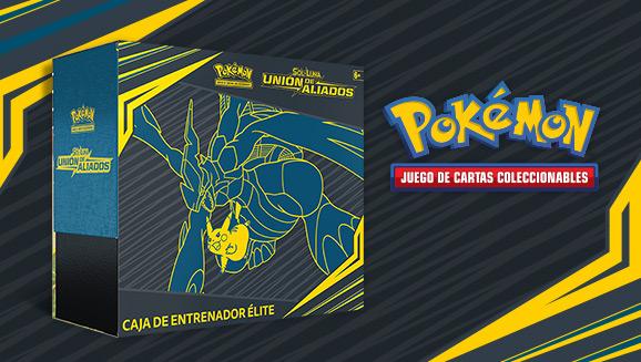 Caja de Entrenador Élite de <em>Sol y Luna-Unión de Aliados</em> de JCC Pokémon