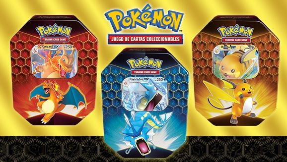 Lata Destinos Ocultos de JCC Pokémon