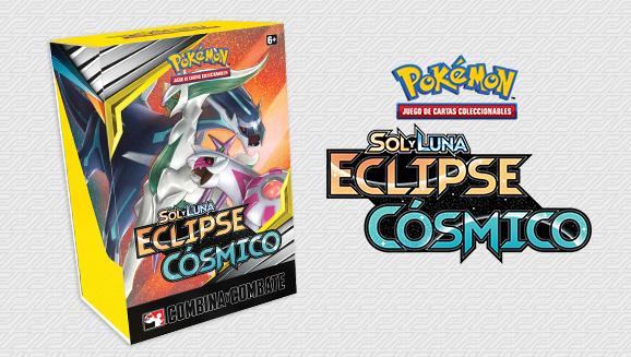 Caja de Combina y Combate de <em>Sol y Luna-Eclipse Cósmico</em> de JCC Pokémon
