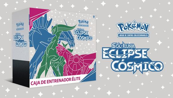 Caja de Entrenador Élite de <em>Sol y Luna-Eclipse Cósmico</em> de JCC Pokémon