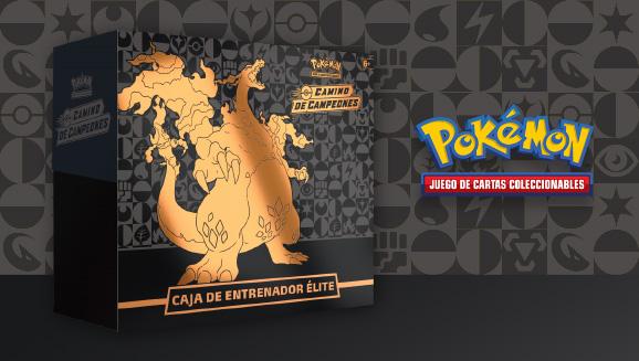 Caja de Entrenador Élite de <em>Camino de Campeones</em> de JCC Pokémon