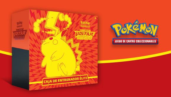 Una Caja de Entrenador de JCC Pokémon electrizante