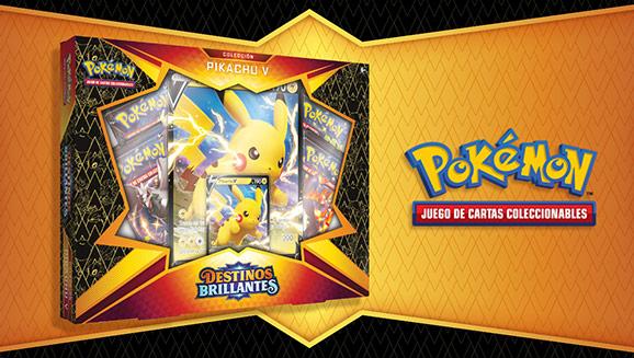 Colección Pikachu V de <em>Destinos Brillantes</em> de JCC Pokémon