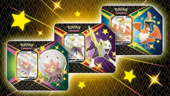 Lata Destinos Brillantes de JCC Pokémon
