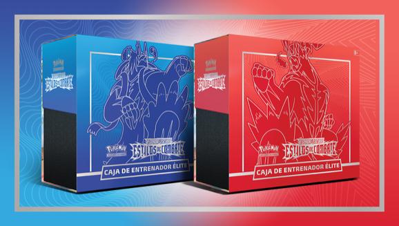 Caja de Entrenador Élite de <em>Espada y Escudo-Estilos de Combate</em> de JCC Pokémon