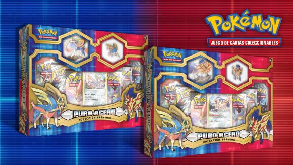 Colección premium Puro Acero de JCC Pokémon
