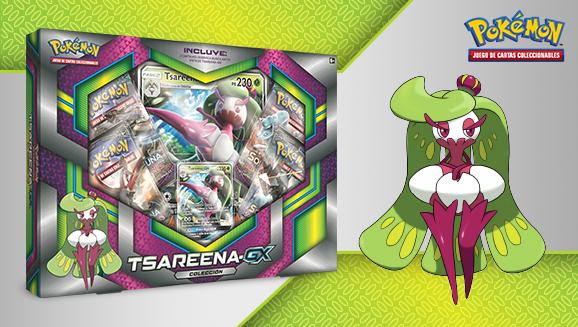 Colección Tsareena-<em>GX</em> de JCC Pokémon