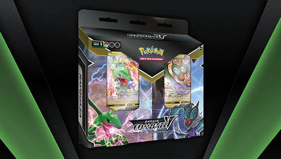 Es Rayquaza vs. Noivern en JCC Pokémon