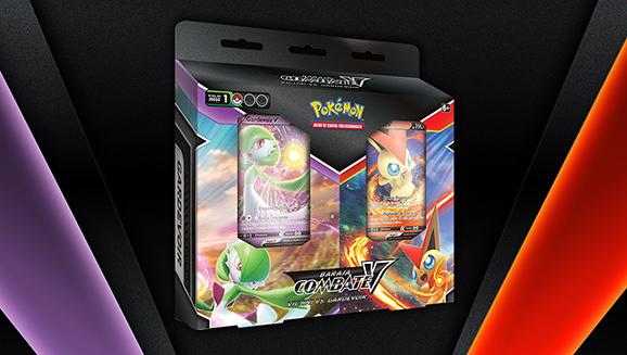 Pack de barajas Combate V: Victini vs. Gardevoir de JCC Pokémon