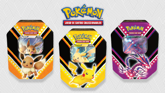 Lata Poderes V de JCC Pokémon
