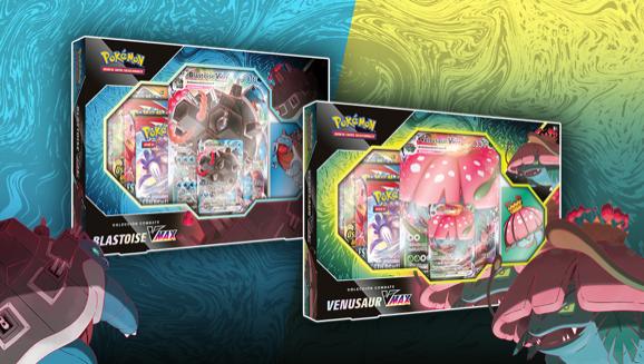 Colección Combate Venusaur VMAX o Blastoise VMAX de JCC Pokémon