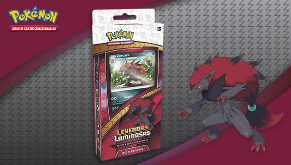 Minicolección Zoroark de <em>Leyendas Luminosas</em> de JCC Pokémon