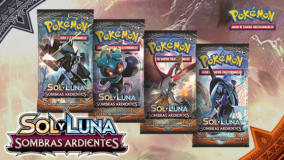 <em>Sol y Luna-Sombras Ardientes</em> de JCC Pokémon