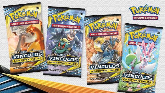 <em>Sol y Luna-Vínculos Indestructibles</em> de JCC Pokémon