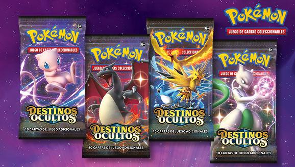 <em>Destinos Ocultos</em> de JCC Pokémon