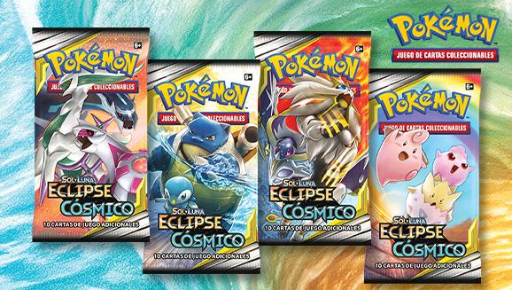 <em>Sol y Luna-Eclipse Cósmico</em> de JCC Pokémon