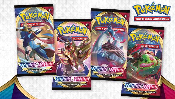 <em>Espada y Escudo</em> de JCC Pokémon