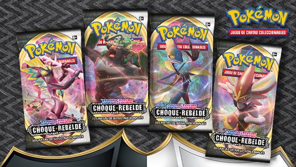 <em>Espada y Escudo-Choque Rebelde</em> de JCC Pokémon