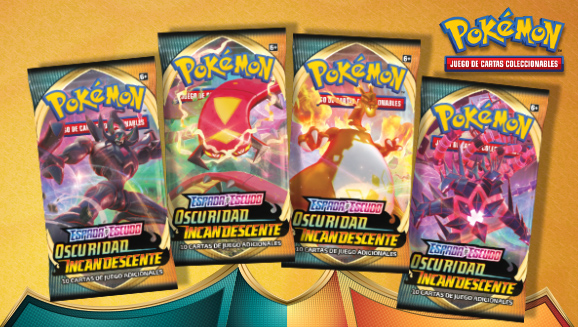 <em>Espada y Escudo-Oscuridad Incandescente</em> de JCC Pokémon