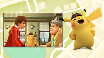 ¡El detective Pikachu está a cargo del caso!