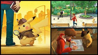 ¡Resuelve misterios en Detective Pikachu!