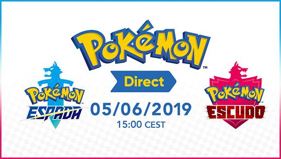 Anunciaremos novedades sobre Pokémon Espada y Pokémon Escudo el 5 de junio