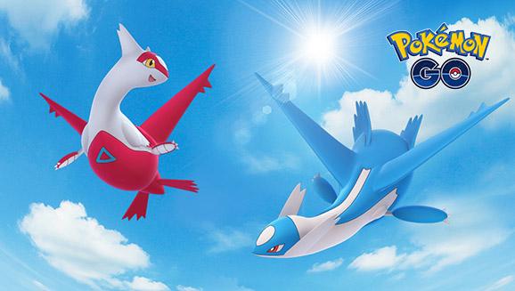 Las estrellas se alinean para las incursiones con Latias y Latios en Pokémon GO