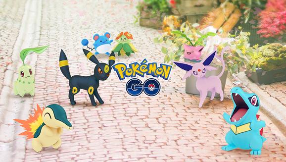 ¡Diversión con temática de Johto en Pokémon GO!