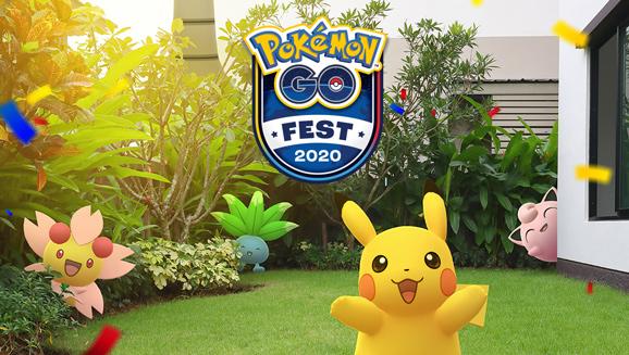 Anota el Festival de Pokémon GO 2020 en tu calendario