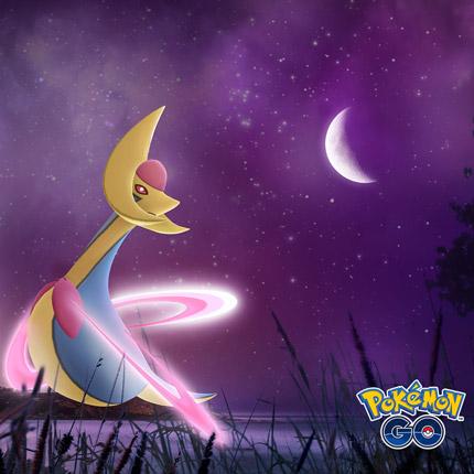 Cresselia brilla en las incursiones de Pokémon GO